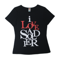 Made in the USA: Women's I Love a Soldier Tee