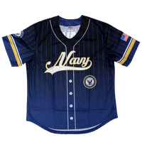 US Navy Sublimated Baseball Jersey