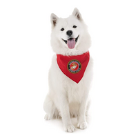 US Marines Red Pet Bandana