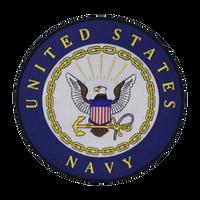 US Navy Round Logo Patch Large