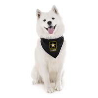 US Army Black Pet Bandana