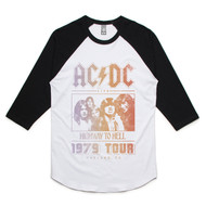 Highway to Hell Tour '79 Raglan