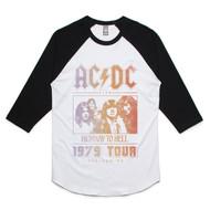 Highway to Hell Tour '79 Raglan