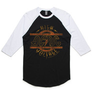 AC/DC High Voltage Raglan