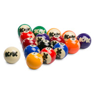 AC/DC 16-pce Pool Ball Set