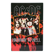 AC/DC Highway to Hell Glass Clock