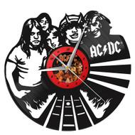 AC/DC Vinyl Clock