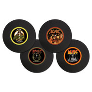 AC/DC set of 4 Vinyl Coasters