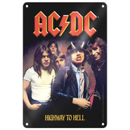 AC/DC Highway to Hell Tin Sign