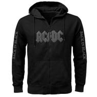 AC/DC Back in Black Zip Hoody