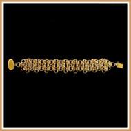 Gold Far East Byzantine Weave Bracelet