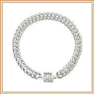 Sterling Silver Persian Chain Bracelet