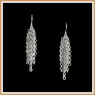 Sterling Silver Icicle Earrings
