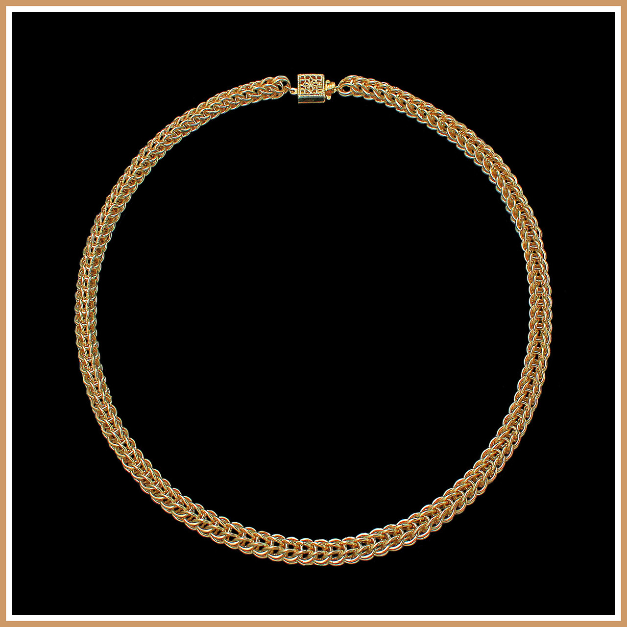 9fb7235105 Gold Persian Chain Necklace | Shop Gemstone, Gold and Silver Jewelry