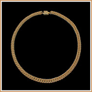 Gold Persian Chain Necklace