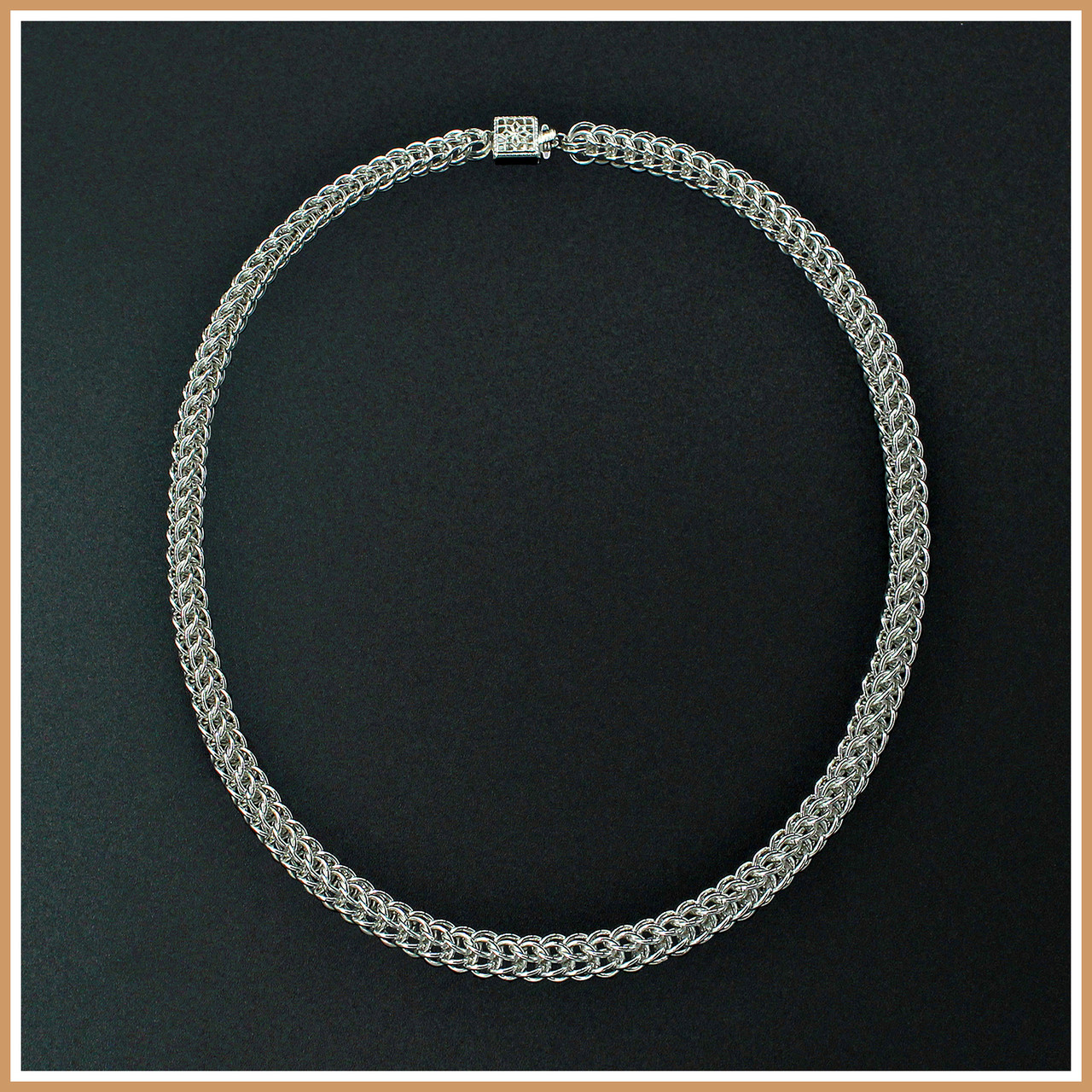 e02e40876b Sterling Silver Persian Chain Necklace | Shop Gemstone, Gold and ...