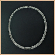 Sterling Silver Persian Chain Necklace