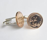 Australian 1 Cent Coin Cufflinks
