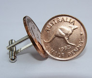 1959 birth year Australian-Halfpenny-Coin-Cufflinks-460-545