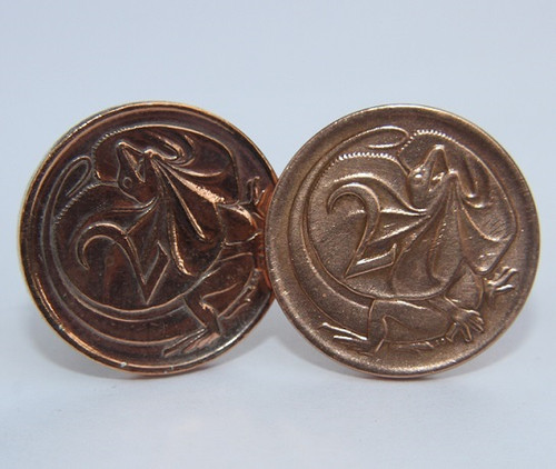 1974 birth year Australian-2-Cent-Coin-Cufflinks-Front-med-460-545