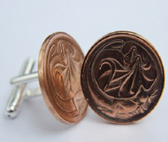 1971 birth year Australian-2-Cent-Coin-Cufflinks-Side-med-460x545