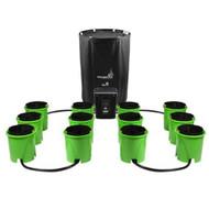 Oxygen Pot Systems 12 Bucket XL Super-Flow - (Digital Controller)- 60 Gallon Reservoir