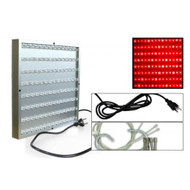 50 Watt Advance Spectrum All Red LED Grow Light Panel *Free Shipping*
