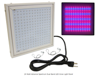 24 Watt Advance Spectrum Dual Band LED Grow Light Panel