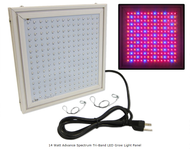 24 Watt Advance Spectrum Tri-Band LED Grow Light Panel *Free Shipping*