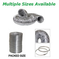Insulated Foil Ventilation Ducting