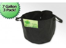 7 Gallon Fabric Prune Pot (3 Bag Bundle)