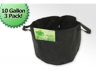 10 Gallon Fabric Prune Pot (3 Bag Bundle)