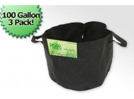 100 Gallon Fabric Prune Pot (3 Bag Bundle)