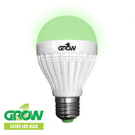 Gro1 Green LED Light Bulb - 9W