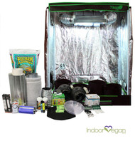 2x4ft HID Soil Complete Indoor Grow Tent System