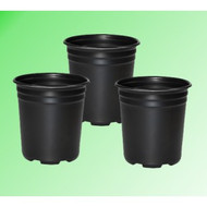 1 Gal. Plastic Grow Pot (3 pack)