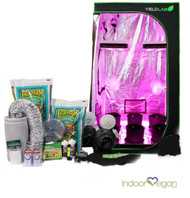 4x4ft LED Soil Complete Indoor Grow Tent System