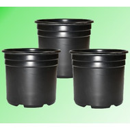 3 Gal. Plastic Grow Pot (3 pack)