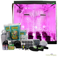 6.5x6.5ft LED Soil Complete Indoor Grow Tent System