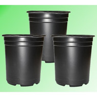 5 Gal. Plastic Grow Pot - Tall (3 pack)