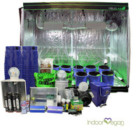 8x4ft HID Hydro Complete Indoor Grow Tent System