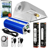 Yield Lab 400w HPS+MH Air Cool Hood Reflector Grow Light Kit - Free Shipping
