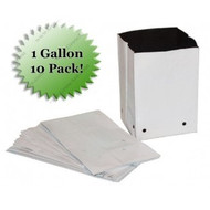1 Gal. PVC Grow Bags (10 Pack)