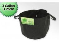 3 Gallon Fabric Prune Pot (3 Bag Bundle)