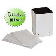 5 Gal. PVC Grow Bags (10 Pack)