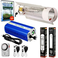 Yield Lab 400w HPS+MH Cool Tube Reflector Grow Light Kit - Free Shipping