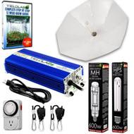 Yield Lab 600W HPS+MH Umbrella Reflector Digital Grow Light Kit - FREE SHIPPING