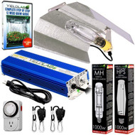 Yield Lab 1000W HPS+MH Wing Reflector Digital Grow Light Kit - FREE SHIPPING
