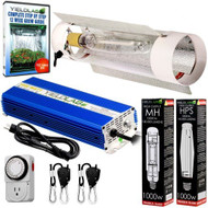 Yield Lab 1000W HPS+MH Cool Tube Reflector Grow Light Kit - FREE SHIPPING