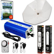 Yield Lab 400w HPS+MH Umbrella Reflector Grow Light Kit - Free Shipping